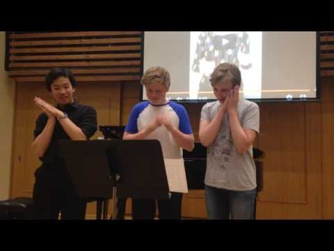 Rhythm and Sign Language - Guildhall School of Music