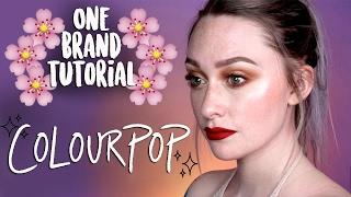 One Brand Makeup Tutorial - Colourpop   JkissaMakeup