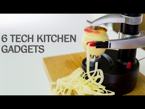 Generate 6 Tech Kitchen Gadgets Pictures