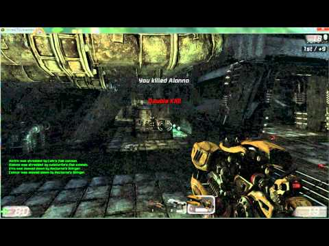 playing unreal tournament 3 in SLOW MOTION