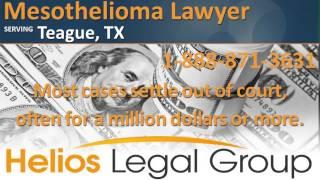 Teague Mesothelioma Lawyer & Attorney  - Texas