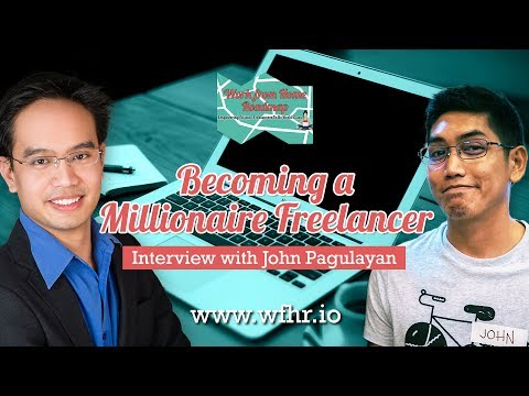 🔴 Becoming A Millionaire Freelancer | John Pagulayan | JasSu