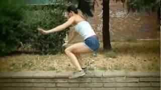 Sokak Egzersizi Yapan Harika Macar Kızları