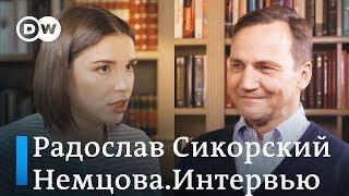 Сикорский: Мне нравятся россияне в России. Но когда они приходят с оружием - я сопротивляюсь