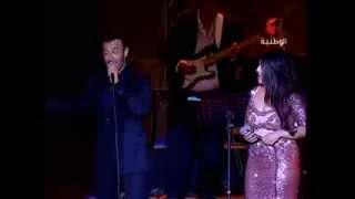 Yosra Mahnouch & Kadim Al Saher_Om 3youn Soud | يسرا محنوش & كاظم الساهر_أم العيون السود