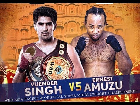 Vijender Singh Vs Ernest Amuzu — Rajasthan Rumble — Dec 2017