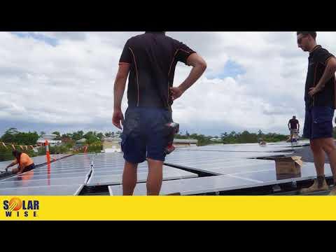 Brisbane Broncos Commercial Solar Installation - QIS Solarwise