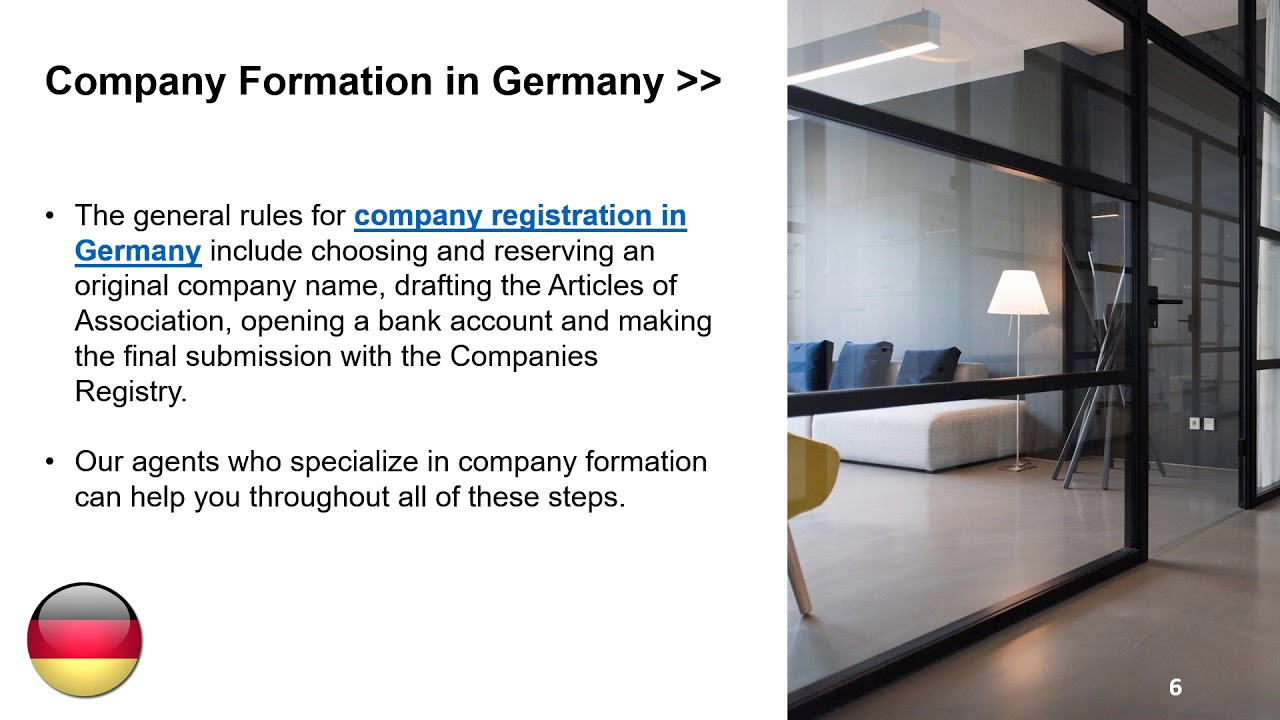 Open An Interior Design Company In Germany Youtube