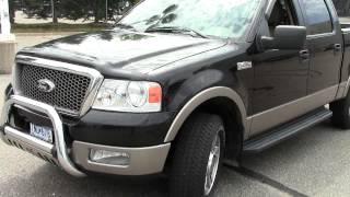2005 Ford F150 Lariat Crew Cab