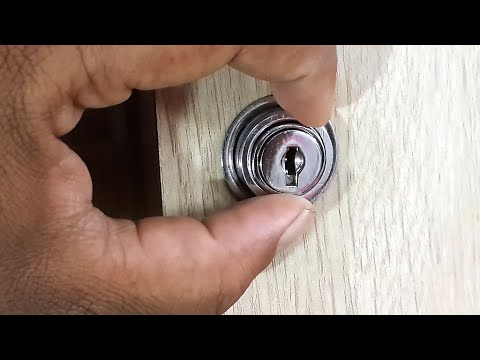 How To Open A Slider Door Lock Without A Key 4k Youtube