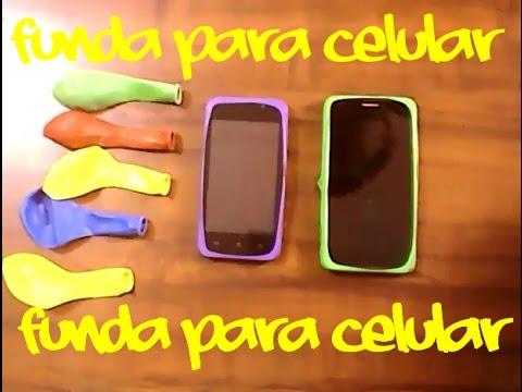 Funda para celular celular mobile tutorial - Como hacer unas fundas para el sofa ...
