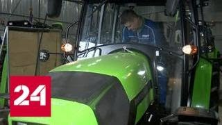 На аграрном заводе в Нижегородской области перейдут на российские комплектующие - Россия 24
