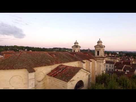 Chateau Henri IV Nérac Albret vidéo drone Midi en France