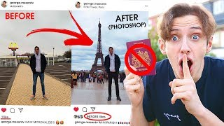 Download I FAKED going on HOLIDAY for a whole WEEK  *PHOTOSHOPPING MY INSTAGRAM* PRANK Mp3 and Videos