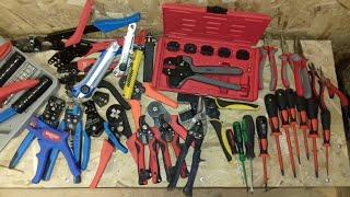 Обзор всего инструмента для электромонтажных работ и сборки электрощитового оборудования