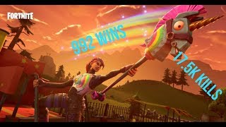 FORTNITE LIVE BATTLE ROYALE 992 WINS 17.5K KILLS TEMPORADA 3 HYPE NUEVOS ELEMENTOS, SKINS,BACKBLIING Y MAS
