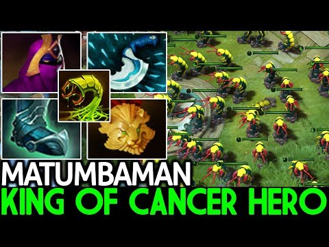 Matumbaman [Venomancer] King of Cancer Hero Pro Gameplay 7.21 Dota 2 thumbnail