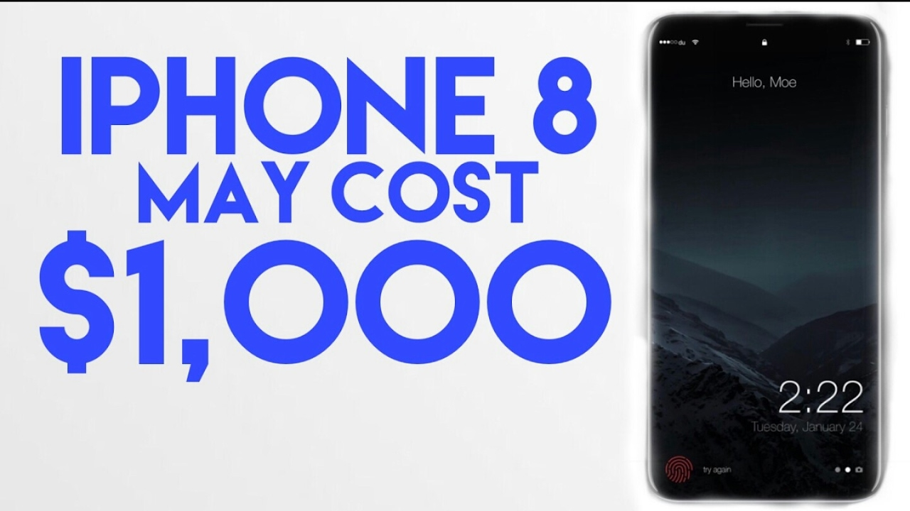 How Much Does The IPhone 8 Cost