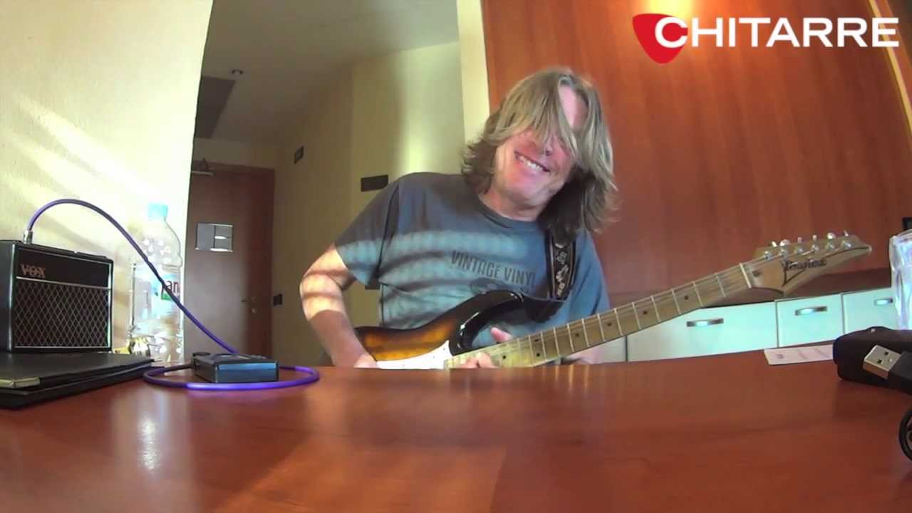 Andy timmons playing while my guitar gently weeps for for Chitarre magazine