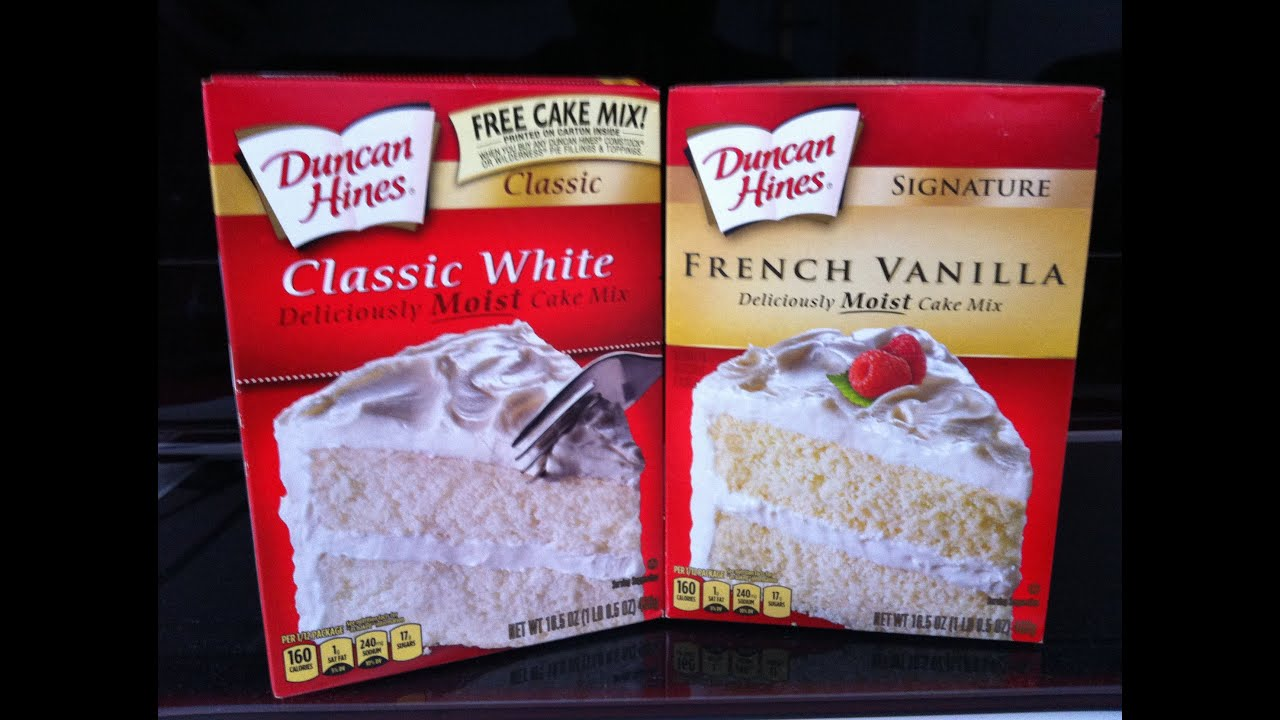 Cake mix doctor vanilla cake recipe