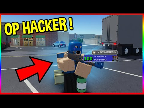 HACKER DESTROYS THE ENTIRE LOBBY   ARSENAL ROBLOX   Rage Quit