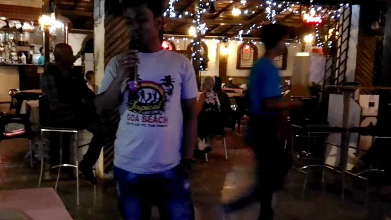 Poddo Patar Jol (James) - Karaoke Cover at Goa Beach