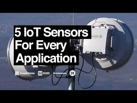 5 IoT Sensors for Every Application