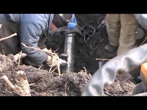 Ремонт, замена трубы газопровода.