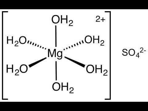 Magnesium Sulfate | Wikipedia Audio Article