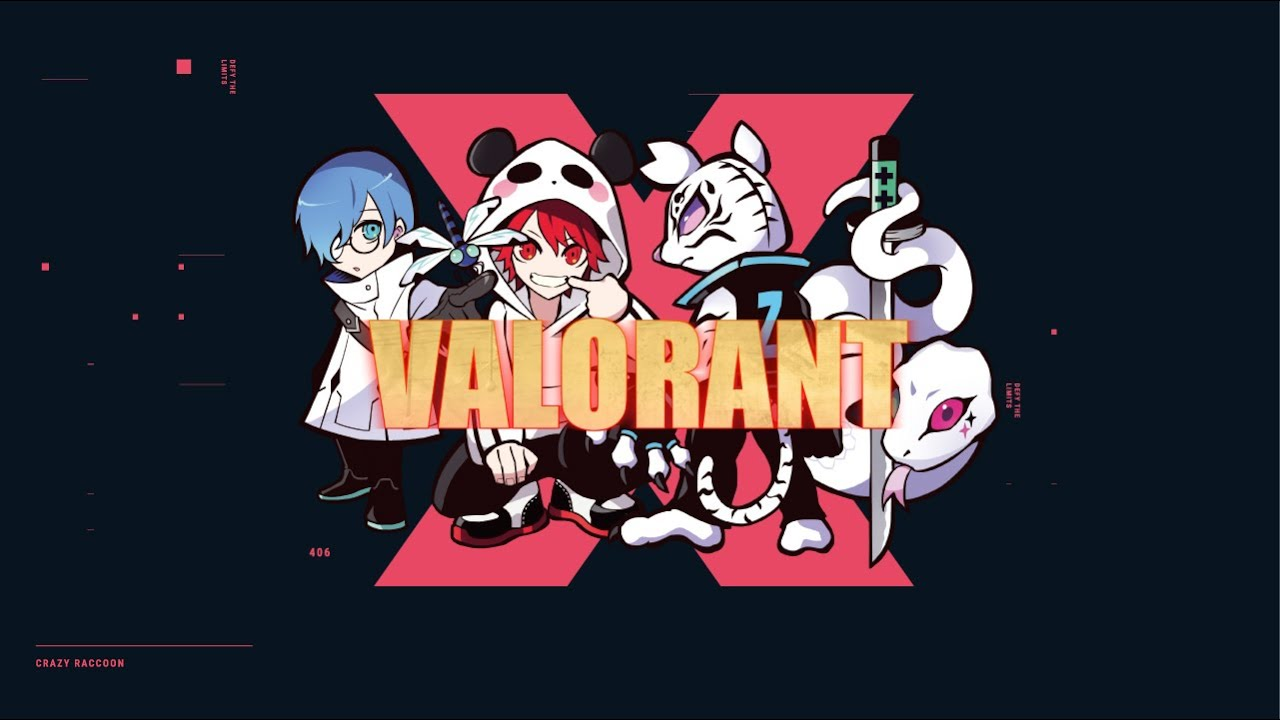 【Crazy Raccoon】Introducing Our New Valorant Team【Short Video】