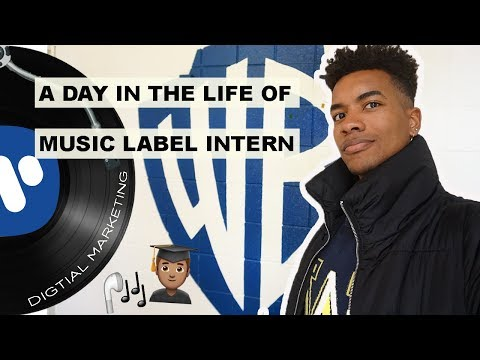A Day in the Life of: Music Label Intern & Meeting Rita Ora at Warner Bros Records