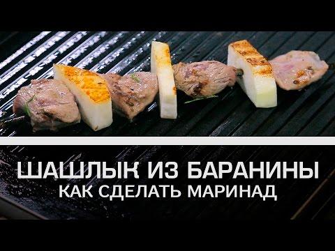 Рецепт Как сделать маринад для шашлыка из баранины? Мужская кулинария