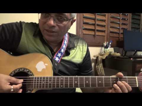 Poovae Sempoovae (M: Illayaraaja, S: SPB) guitar picking, chords and lead by Suresh