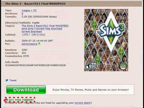 The sims 3 tg serial season