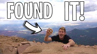 SEARCHING FOR EPIC DONUTS! *top of mountain*