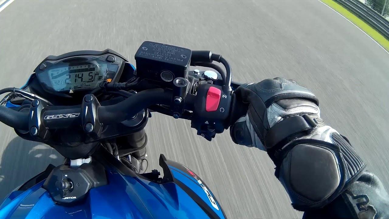 2018 Suzuki GSX-S750 Top Speed