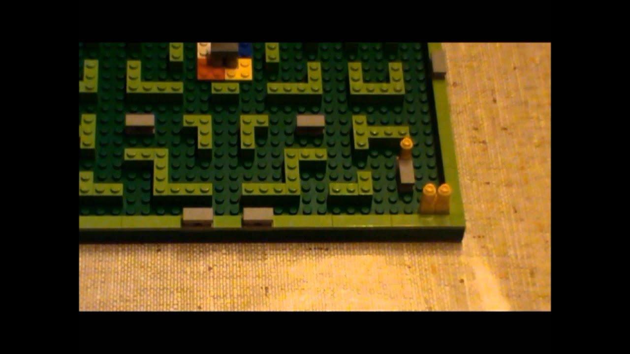 Slenderman El Juego De Mesa Lego Youtube
