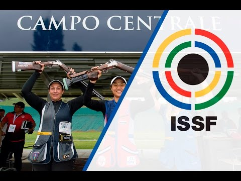 Skeet Women Final - 2016 ISSF Shotgun World Cup in San Marino (SMR)