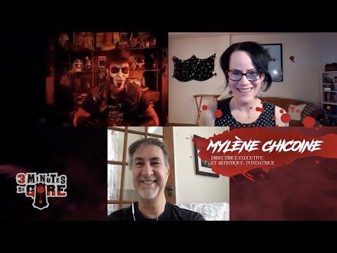 3 minutes de gore | Spécial quarantaine | Mylène Chicoine & Eric Wrazen du Festival de La Bête Noire