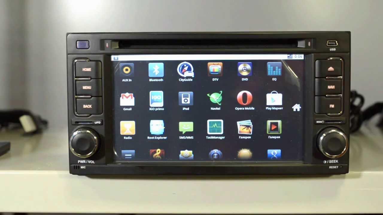 Штатные головные устройства Subaru Forester