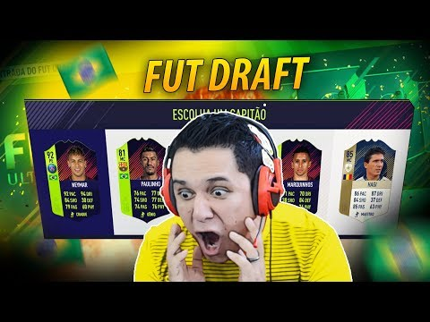 FUT DRAFT BRASIL!! *O QUE FOI ISSO?!* FIFA 18 FUT DRAFT!! 🔥😂