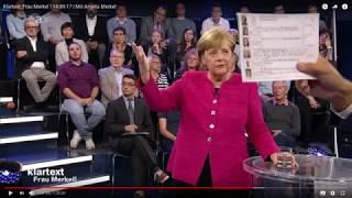 """Erwischt! Ausgesuchte Gäste die Fragen stellen dürfen bei """"Klartext, Frau Merkel"""""""