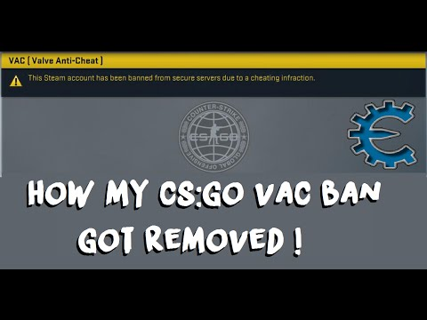 How My VAC-Ban On CS:GO Got Lifted / Removed !