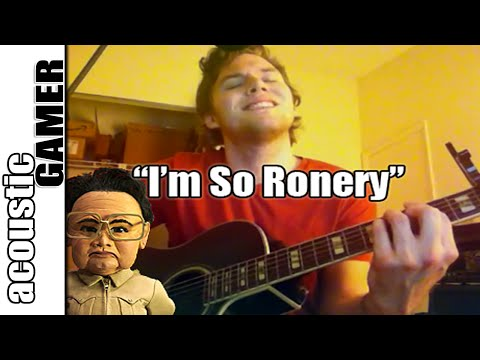 """""""I'm So Ronery"""" Team America Acoustic Cover"""