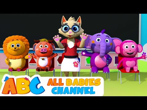 the-teacher-song-|-all-babies-channel-|-nursery-rhymes-&-kids-songs