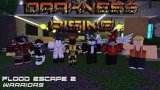 Roblox - France Flood Escape 2 Guerriers - Darkness Rising