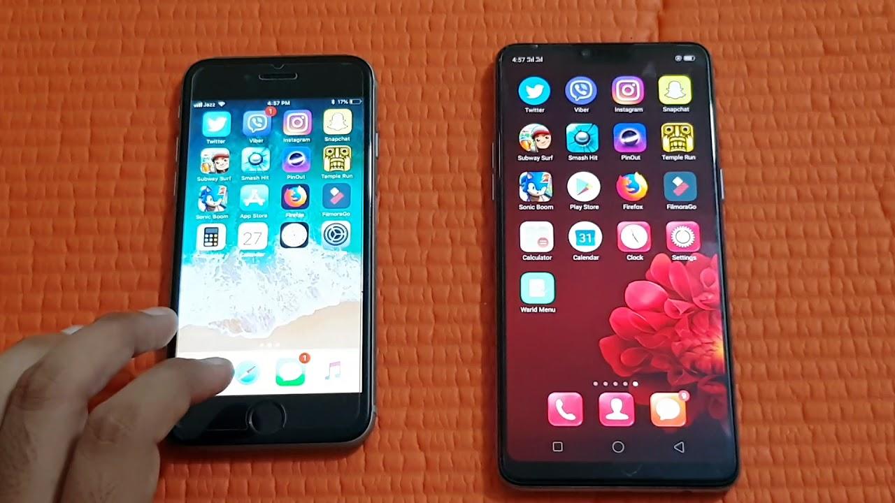 lg f7 vs iphone 6s