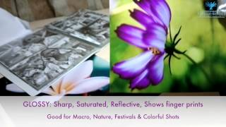 Video Glossy vs Matte vs Metallic Photo Prints download MP3, 3GP, MP4, WEBM, AVI, FLV Juli 2018
