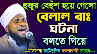 বেলালের ঘটনা বলতে বলতে নিজেয় বেহুঁশ হয়ে গেলো || Bengali Islamic New Waz 2019