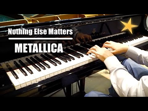 🔴 The Secret Arrangement: METALLICA - Nothing Else Matters 4K piano cover